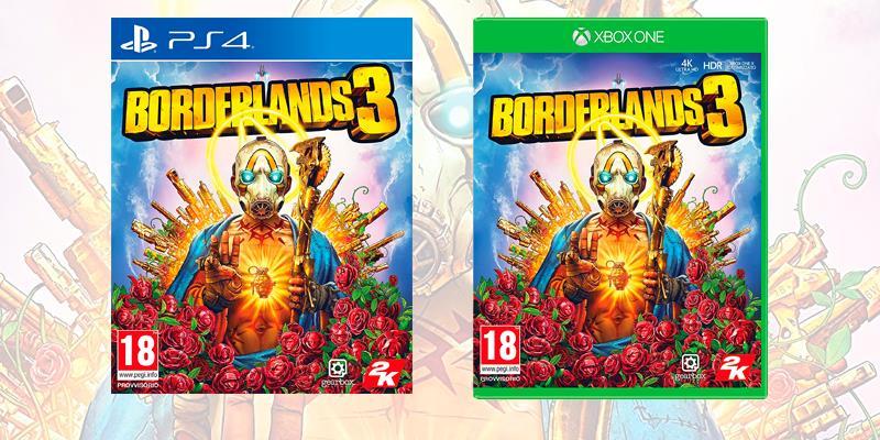 La boxart di Borderlands 3