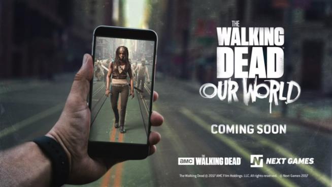 The Walking Dead incontra la realtà aumentata