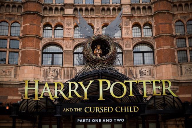 Il Palace Theatre di Londra durante la rappresentazione di Harry Potter and the Cursed Child