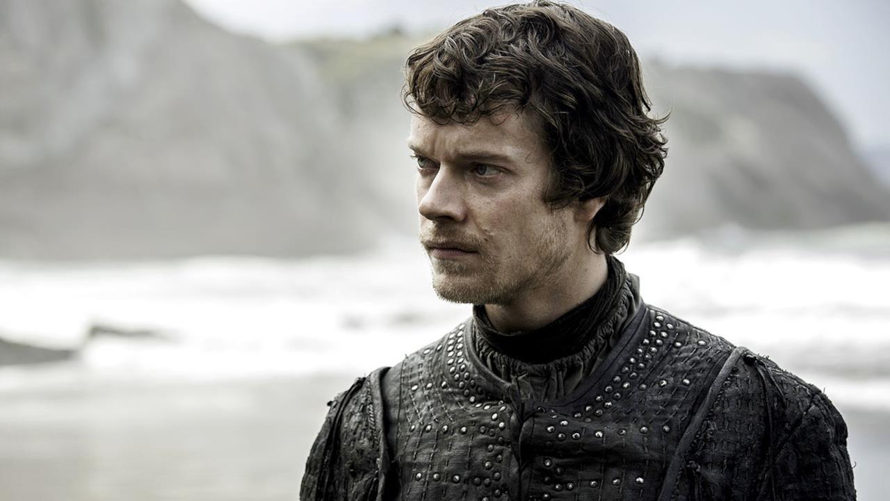 Theon Greyjoy accigliato