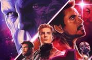 Un primo piano di Captain America nel trailer di Avengers: Endgame