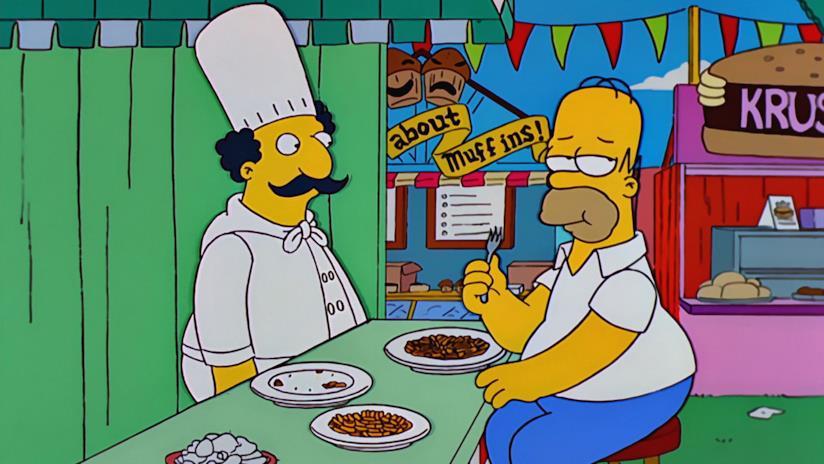 Homer confonderebbe qualsiasi chef