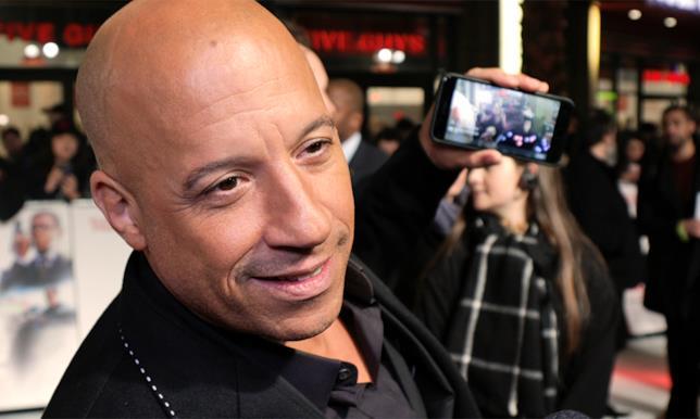 xXx - Il ritorno di Xander Cage, Vin Diesel alla prima di Londra