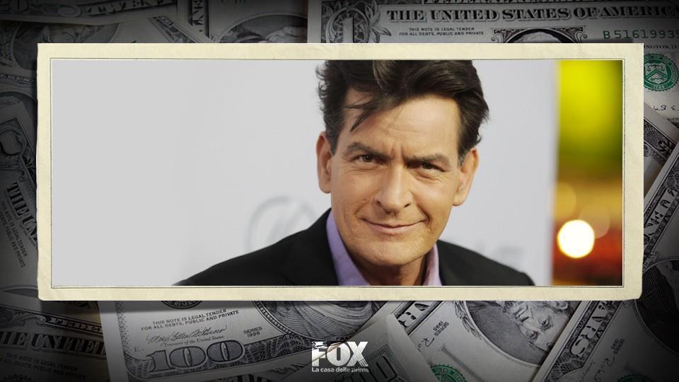 10 milioni – Charlie Sheen (Due uomini e mezzo)