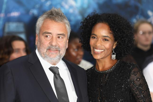 Luc Besson e Virginie Silla a un evento