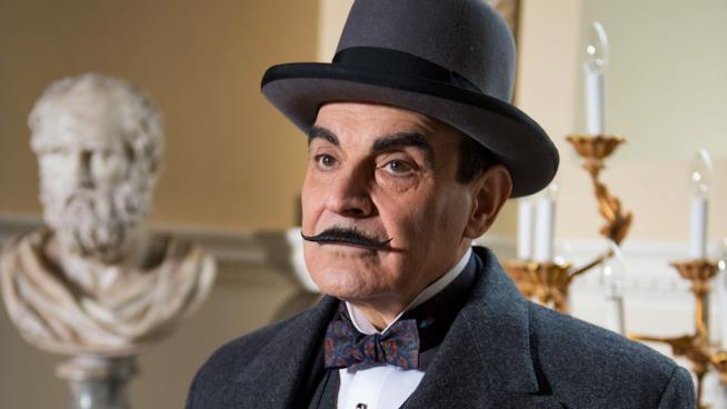 David Suchet, interprete di Poirot sul piccolo schermo