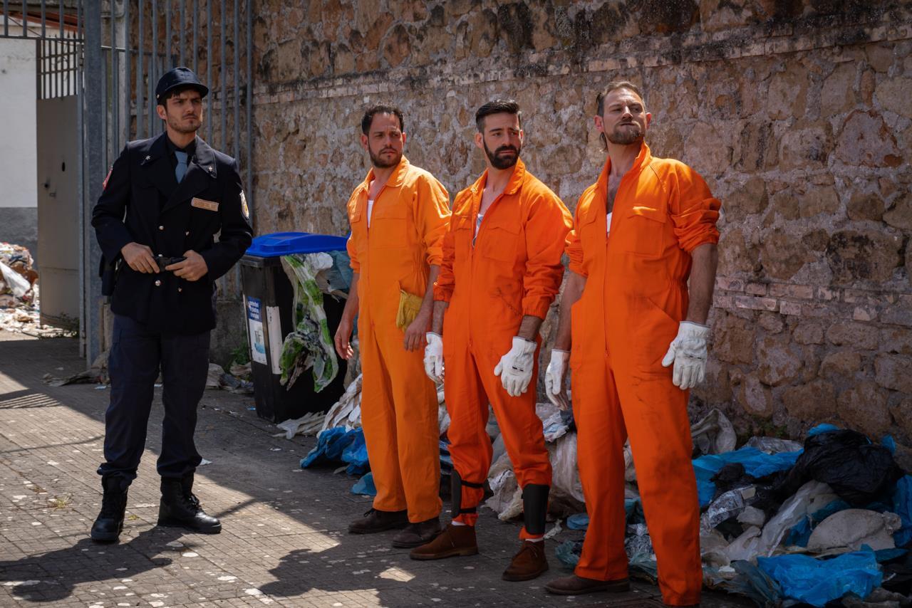 I protagonisti di Romolo + Giuly: la guerra mondiale italiana, la seconda stagione su FOX