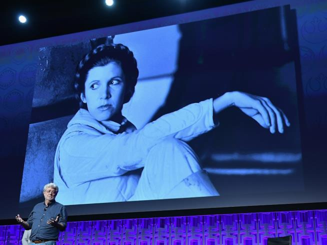 Un'immagine del panel di apertura della Star Wars Celebration