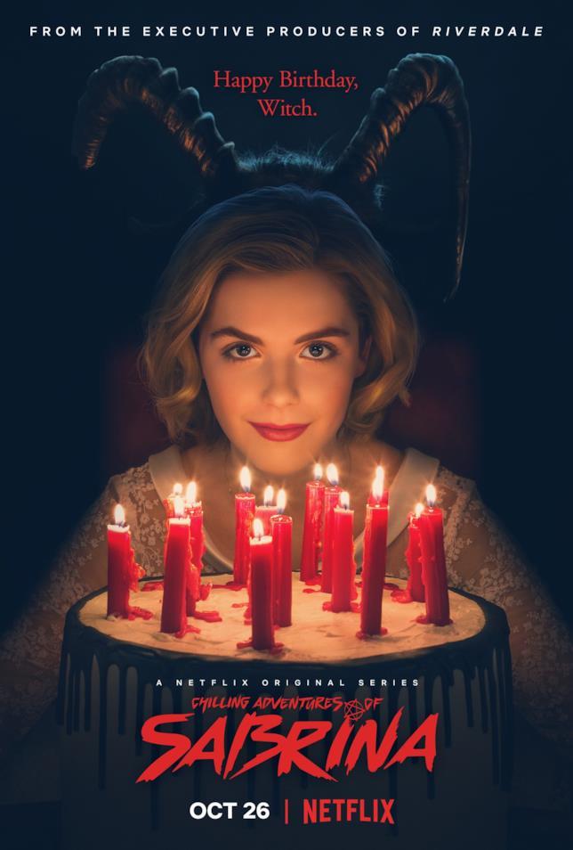 Il poster promozionale de Le Terrificanti Avventure di Sabrina
