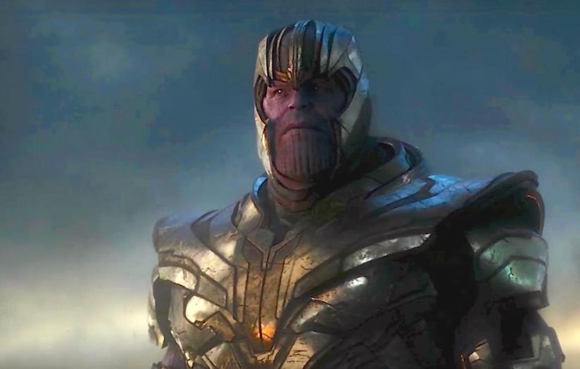 Thanos nel film Avengers: Endgame