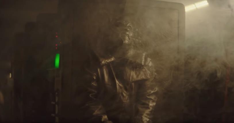 La stanza mostrata nel trailer di The Mandalorian, dove vengono conservati i corpi in carbonite