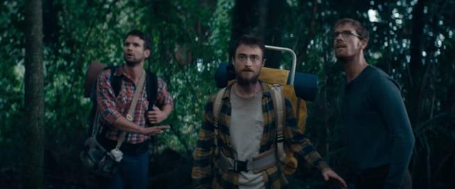 I protagonisti di Jungle preoccupati nella natura