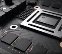 Xbox Scorpio vista dall'interno