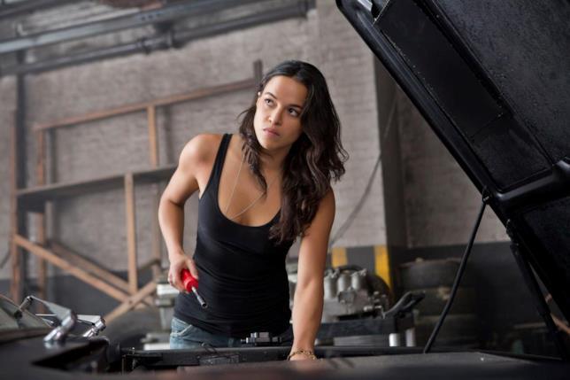Michelle Rodriguez nel film di Lin