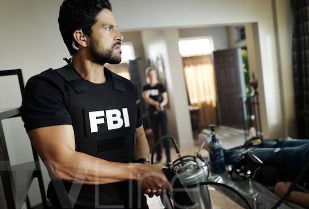 Adam Rodriguez imbraccia una pistola nella prima foto dal set di Criminal Minds