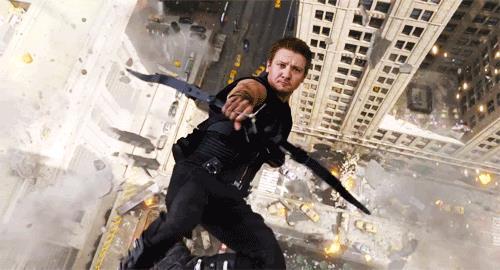 Jeremy Renner è Occhio di Falco nel primo Avengers