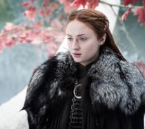 Sansa Stark in una scena di Game of Thrones