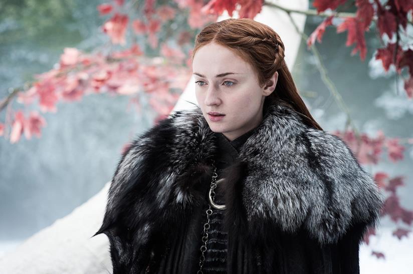 Sansa Stark in una scena di Game of Thrones