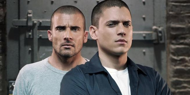 Dominic Purcell e Wentworth Miller