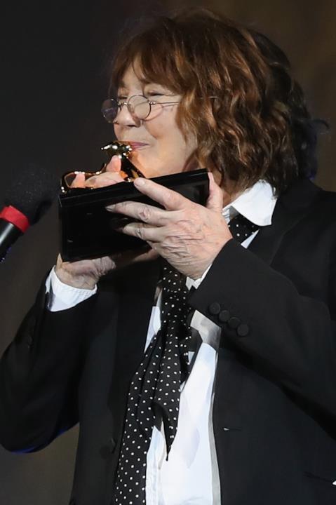 Jane Birkin e il suo Pardo alla carriera