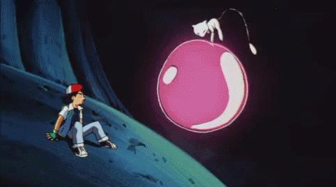 Mew incontra Ash nell'anime dei Pokémon