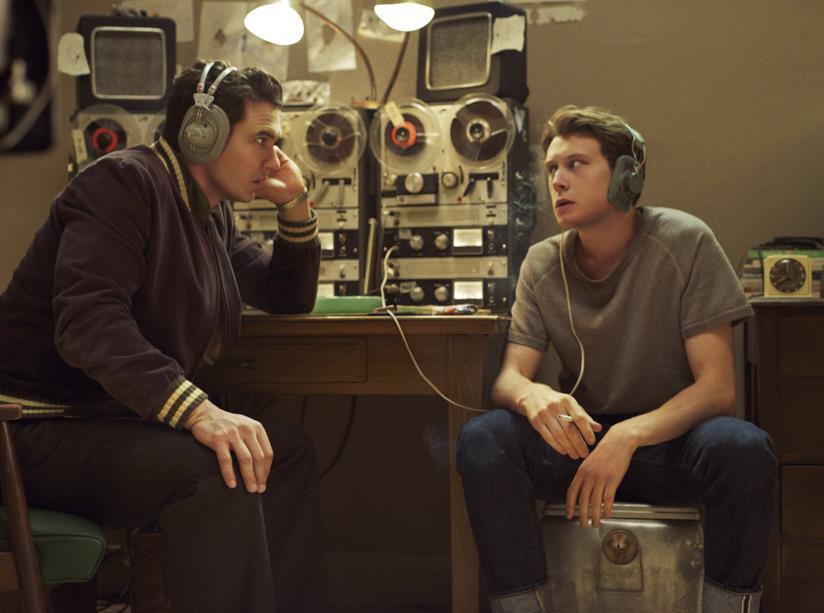 James Franco e George MacKay sul set di 22.11.63