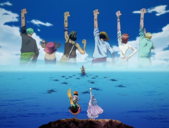 One Piece la X simbolica della ciurma