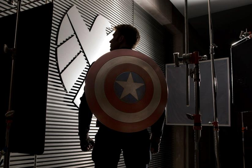 Chris Evans nei panni di Capitan America nel Marvel Cinematic Universe