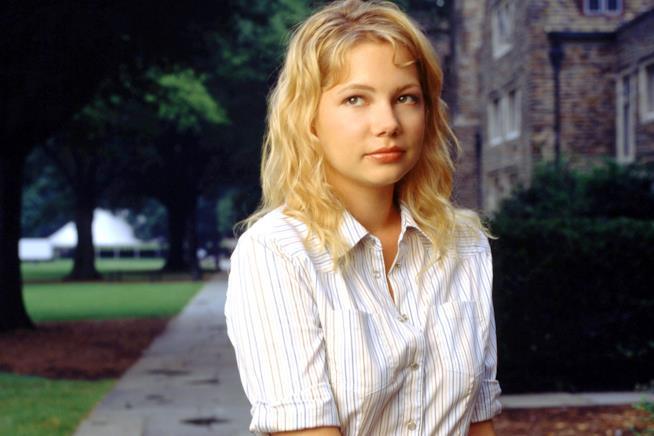 Jen in un'immagine promozionale da Dawson's Creek