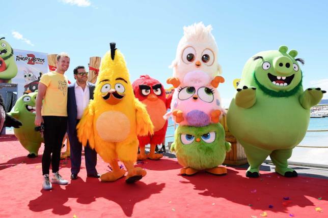 Angry Birds 2 - Nemici amici al Festival di Cannes
