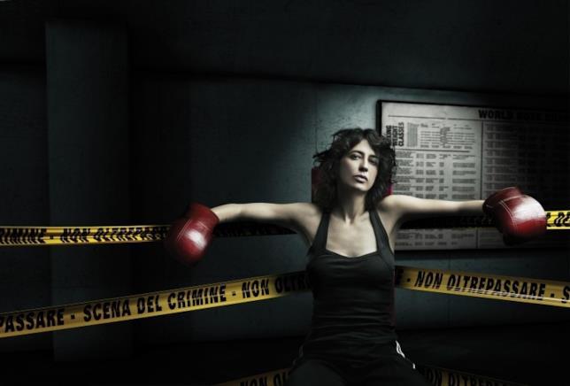 Angela Baraldi nella serie TV di Gabriele Salvatore Quo Vadis, Baby?