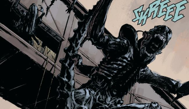 Lo Xenomorfo in Prometheus Fire and Stone Vol. 2