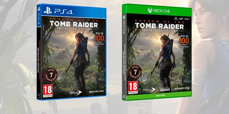 Le copertine di Shadow of the Tomb Raider - Definitive Edition
