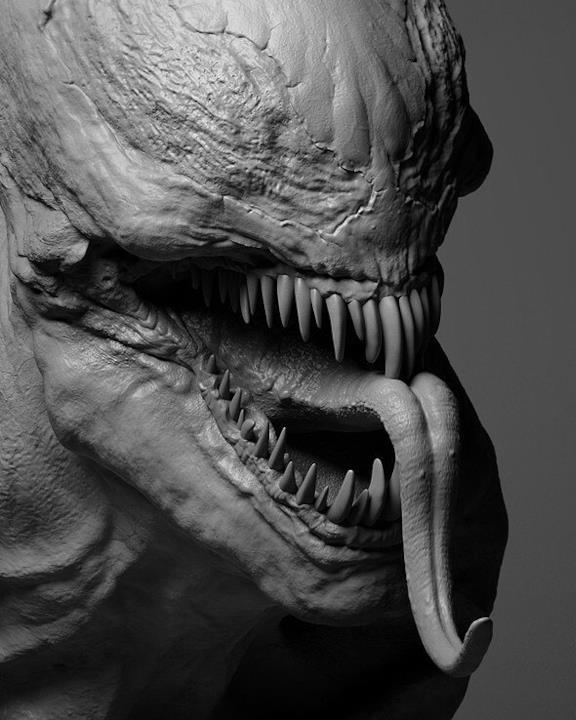 Da vicino Venom fa ancora più paura