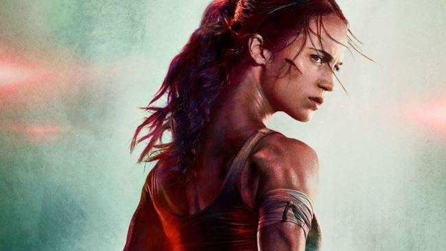 Il poster di Tomb Raider con Alicia Vikander