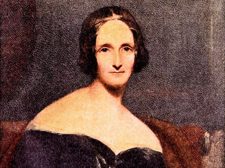 La scrittrice Mary Shelley