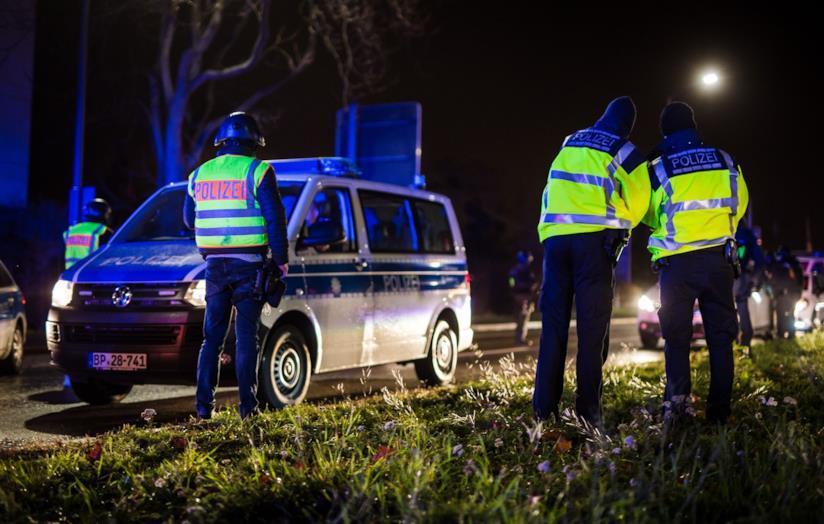 Polizia stradale tedesca
