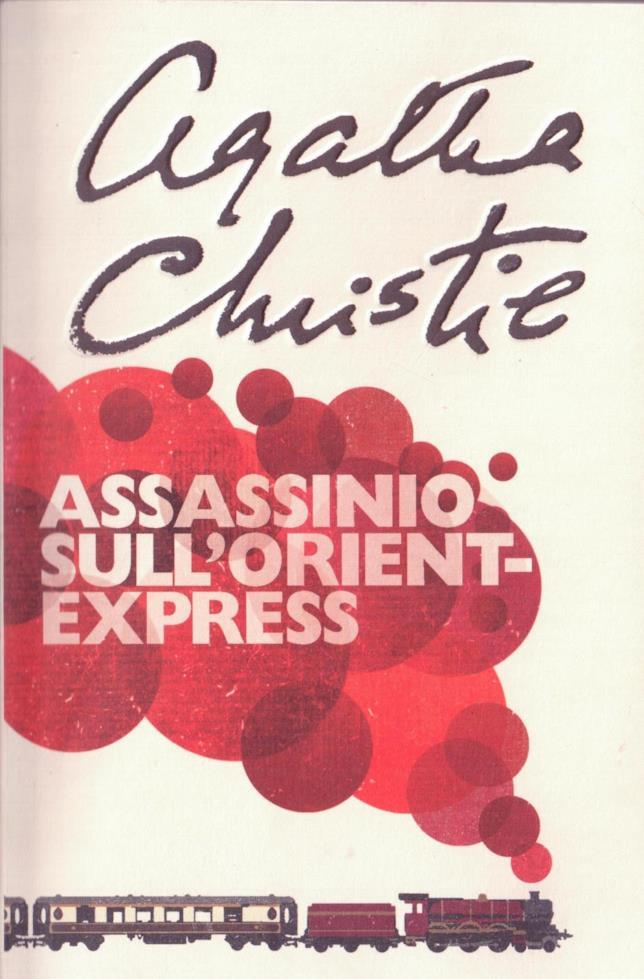 La copertina di Assassinio sull'Orient Express