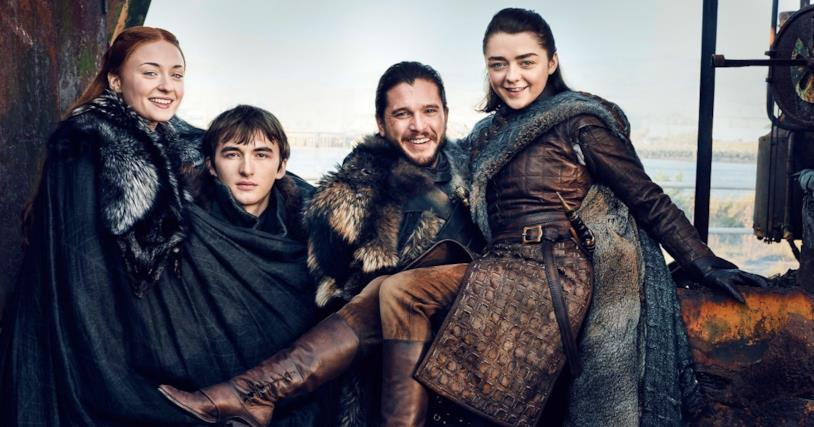 I fratelli Stark di Game of Thrones