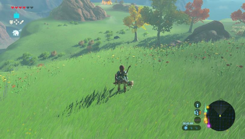 Un'immagine di gioco da The Legend of Zelda: Breath of the Wild