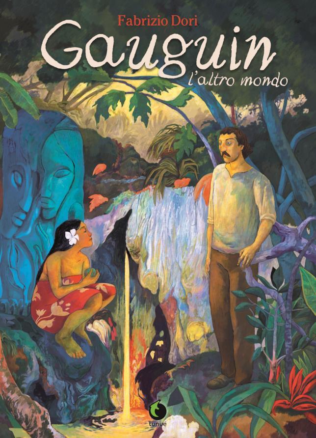 La cover del fumetto sulla vita di Gauguin