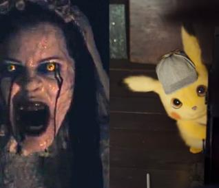 Pikachu in una scena del film