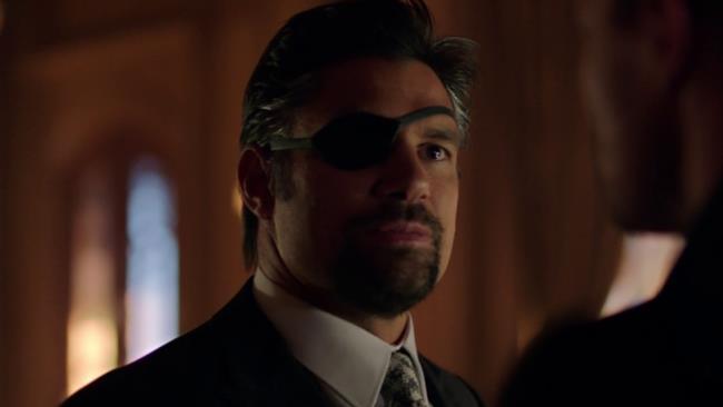 Manu Bennett in Arrow