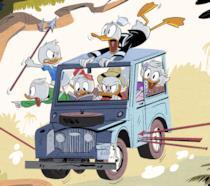 L'immagine promozionale sulla nuova serie di DuckTales