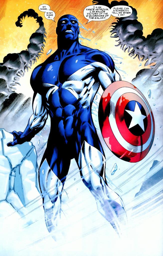 Vance Astro nei fumetti Marvel