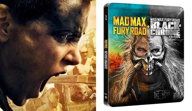Foto dello steelbook di Mad Max: Fury Road in Blu-Ray