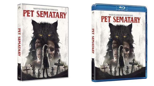 Pet Sematary e Brightburn - L'angelo del male, i due film nei formati DVD e Blu-ray