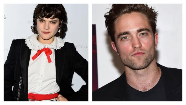 Foto di Soko e Robert Pattinson