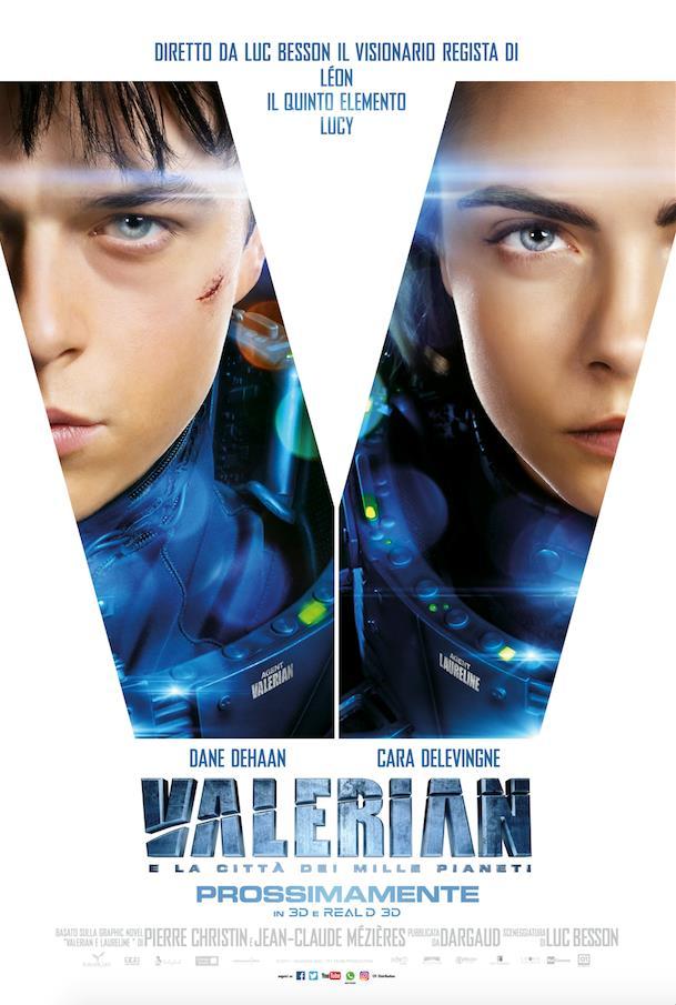 Trailer del fil Valerian e la città dei Mille Pianeti