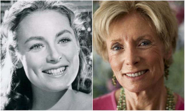 Charmian Carr in un collage tra Liesl e oggi